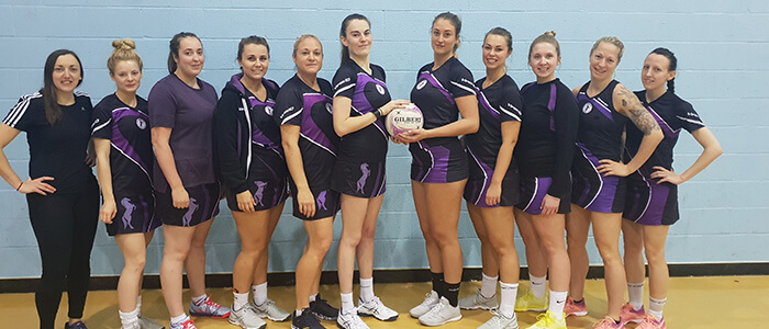Thoroughbreds Netball CLub ER1 Squad